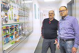 Die MultiPac-Geschäftsführer Josef Götz und Georg Himmer.