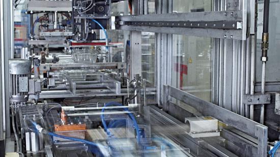 Erweiterung Maschinenpark